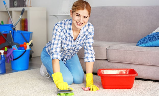 How to Clean a Rug without Using a Steam Cleaner 2