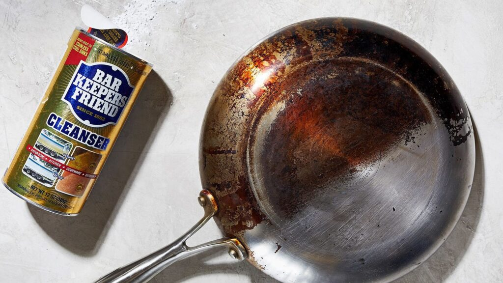 How to Clean All-Clad Pans 4