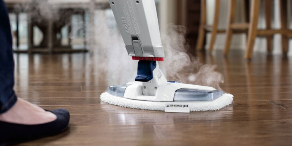 How to Clean Floor Tile Grout with Steam 2