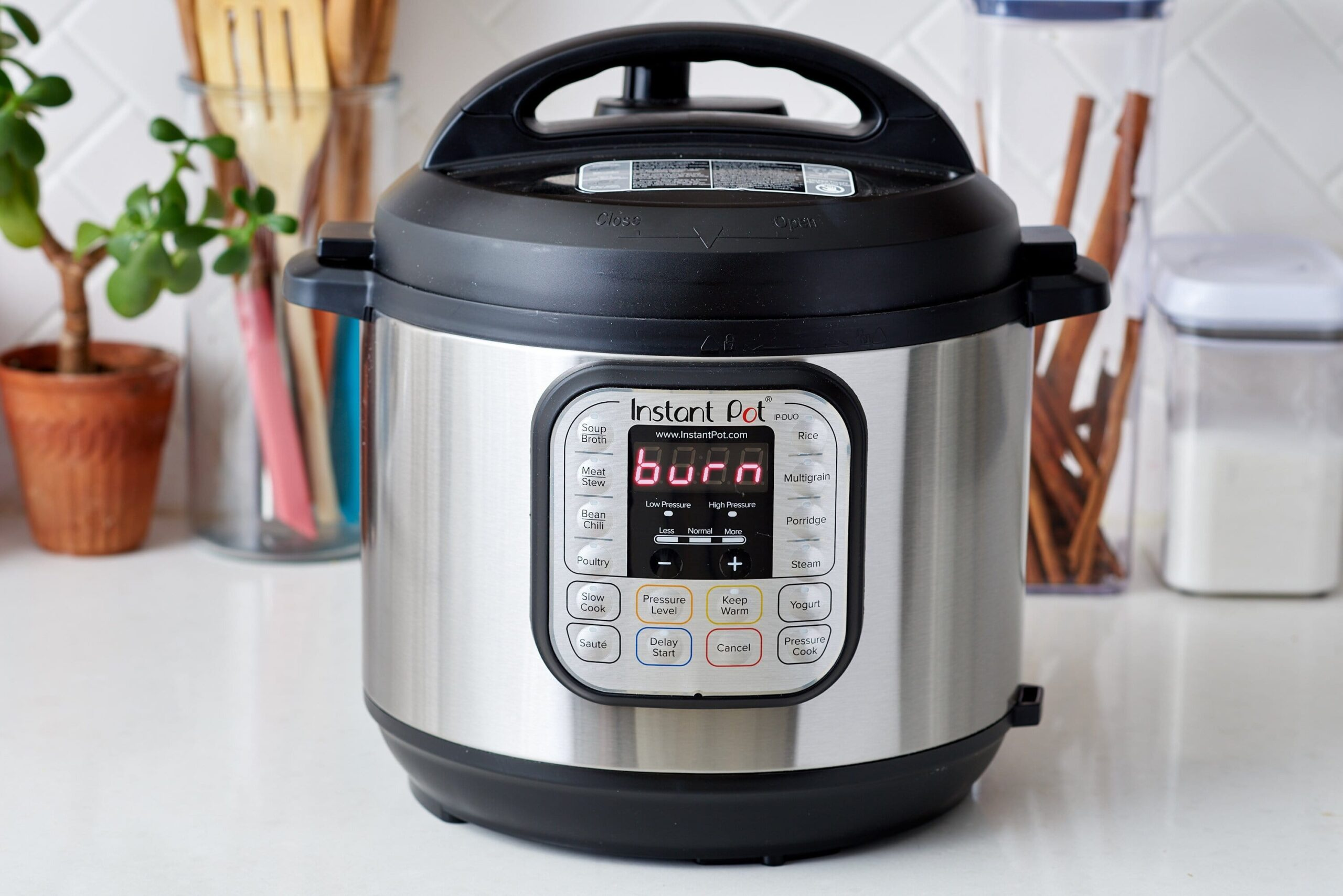 Why Does My Instant Pot Say Burn 1