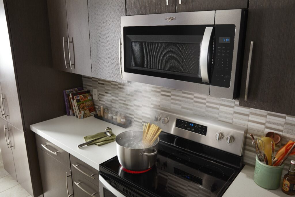How to Vent a Microwave on an Interior Wall 2