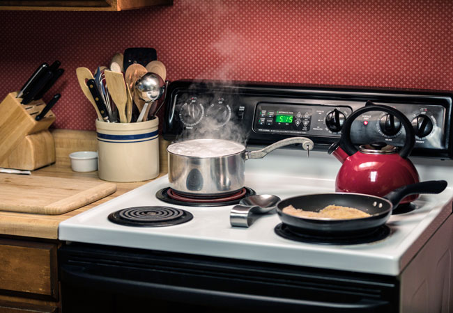 How to Clean Stove Drip Pan 1